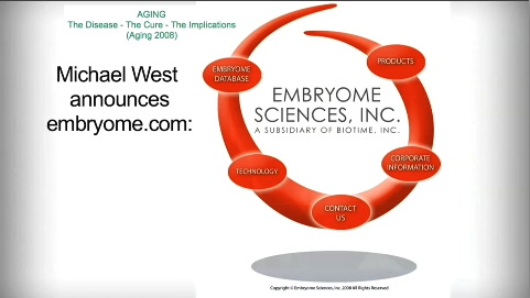 Michael West announces Embryome.com